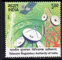 India 2017 20th Anniversary Of Telecoms Regulatory Authority, MNH, SG 3311 (E) - India
