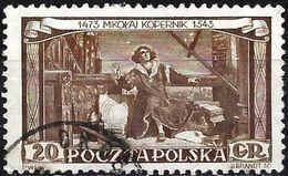 Poland 1953 - Mi 805A - YT 709 ( Nicolas Copernic ) - 1944-.... République