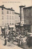43 Brioude Place Du Mazel Marché Jour De Foire - Brioude