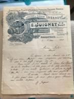 Spécialité De Plants D'Asperges Fraisiers Figuiers Arbres - E.Juignet - Argenteuil 1913 - 1900 – 1949