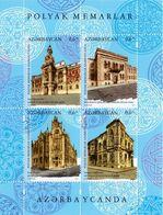 2019 Polish Architects In Azerbaijan. Azerbaijan Stamps. Joint Issue Poland - Azerbeidzjan