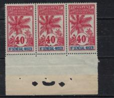 HAUT SENEGAL        N°  YVERT  11 X 3 Bord De Feuille      NEUF SANS CHARNIERE      ( Nsch 02/26 ) - Upper Senegal And Nigeria (1904-1921)