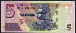ZIMBABWE NLP 5 DOLLARS 2019 UNC. - Simbabwe