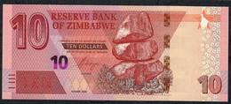 ZIMBABWE NLP 10 DOLLARS 2020 UNC. - Simbabwe