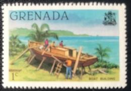 Grenada - A1/4 - MNH - 1980 - Scheepsbouw - Grenada (1974-...)