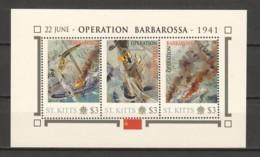 Nevis - MNH Sheet G2 WORLD WAR 2 - OPERATION BARBAROSSA - Seconda Guerra Mondiale