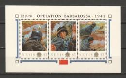 Nevis - MNH Sheet C2 WORLD WAR 2 - OPERATION BARBAROSSA - Seconda Guerra Mondiale