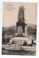 SARTENE (CORSE / 20) - MONUMENT AUX MORTS POUR LA PATRIE INAUGURE PAR M. LE PRESIDENT DE LA REPUBLIQUE LE 4 MAI 1923 - Sartene