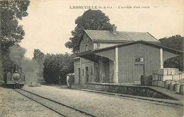 95 NESLES LA VALLEE - L'ARRIVEE DU TRAIN - Nesles-la-Vallée