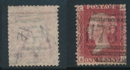GB, 1864 Penny Red SG43, Plate 71 ,undamaged And Fine - Used Stamps