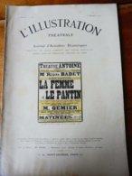LA FEMME ET LE PANTIN, De Pierre Louys Et Pierre Frondaie (orig :L'ILLUSTRATION  THÉÂTRALE 1911 ) Dos Illustré  O' Galop - Theatre