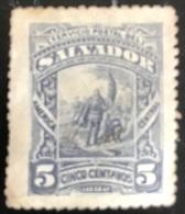 El Salvador - A1/3 - (°) Used - 1892 - Landing Van Columbus - El Salvador