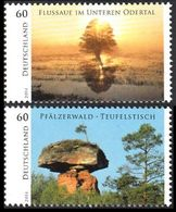 2014Germany3059-3060Landscape - Unused Stamps