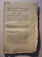 BULLETIN DES LOIS 1810 - HOLLANDE HOLLAND PAYS BAS BREDA - ASSOCIATIONS TONTINES - IMPRIMERIE - MONNAIES ITALIE ITALIA - Gesetze & Erlasse
