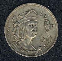 Mexiko, 50 Centavos 1950, Silber, XF - Mexico