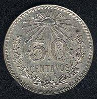 Mexiko, 50 Centavos 1945, Silber, UNC - Mexico
