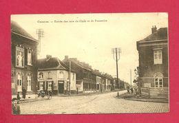 C.P. Cuesmes = Entrée  Des Rues De Ciply Et De  Frameries - Mons