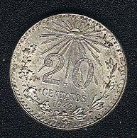 Mexiko, 20 Centavos 1942, Silber, UNC - Mexico