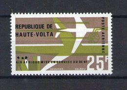Haute Volta. Poste Aérienne. Mise En Service Des DC-8F De La Compagnie Air Afrique - Obervolta (1958-1984)
