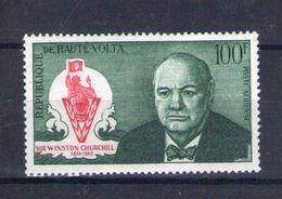 Haute Volta. Poste Aérienne. Anniversaire De La Mort De Churchill - Obervolta (1958-1984)