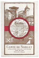 Gaillac Rare Carte Publicitaire 2 Volets Gaillac Comte De Noblet Editions Labouche Frères Toulouse - Gaillac