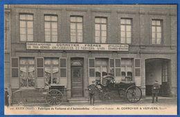 CPA 59 ANZIN (Nord) - Fabrique De Voitures Et D'Automobiles - Corroyer Frères - Al CORROYER & VERVERS, Successeurs - Anzin