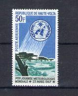 Haute Volta. Poste Aérienne. 7e Journée Métérologique Mondiale - Obervolta (1958-1984)