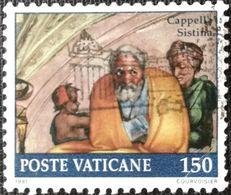027. VATICAN 1991 USED STAMP - Vatican