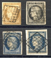 RC 17905 FRANCE COTE 545€ LOT DE CERES SECOND CHOIX - 1849-1850 Ceres