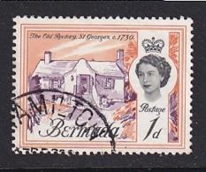 Bermuda: 1962/68   QE II - Buildings    SG163   1d   Used - Bermuda