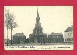C.P. Cuesmes = Grand'Place  Et  Eglise - Mons