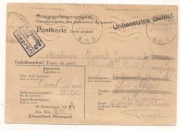 1942 CARTE DU STAMMLAGER XII A STALAG /  INFO SUR ADRESSE DU PRISONNIER DE GUERRE Limburg An Der Lahn / Diez. C617 - Deutschland