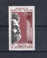 Haute Volta. Poste Aérienne. 2e Anniversaire De La Mort Du Docteur Schweitzer - Obervolta (1958-1984)