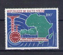 Haute Volta. Poste Aérienne. Union Africaine Et Malgache Des Postes Et Télécommunications - Obervolta (1958-1984)