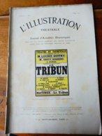 LE TRIBUN, De Paul Bourget     (orig :L'ILLUSTRATION  THÉÂTRALE 1911) Dos Illustré Par MICHELIN - Theatre