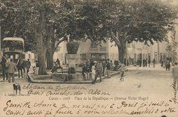 Diligence à Cassis . Avenue Victor Hugo  Vers Buzançais 36 - Taxis & Fiacres