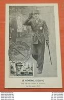 """FRANKREICH 826 General LeClerc - Expositon Souvenirs Du General -- Postcard """"MK"""" (2 Foto)(60848) - France"""
