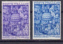 Italie 1950 Yvert 558 / 559 ** Neufs Sans Charniere. - 1946-60: Nuevos