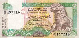 10 Rupees Sri Lanka  Ttb - Sri Lanka