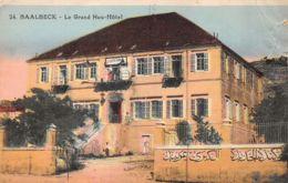 Baalbeck (Liban) - Le Grand New Hôtel - Líbano