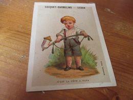 Chromo, Maison Carmelina Socquet Carmelino, Sedan - Trade Cards