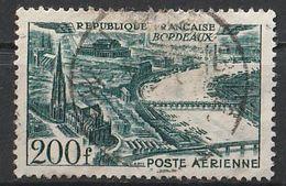 Timbre France Poste Aerienne Aviation Avion Plane N° Yvert PA 25 De 1949 Oblitéré - 1927-1959 Afgestempeld