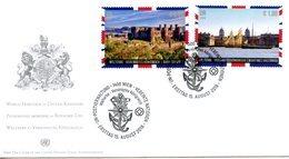 "ONU Vienne 2018 - Unesco - Patrimoine Mondial ""United Kingdom"" FDC - FDC"