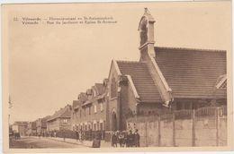 Vilvoorde - Hovenierstraat En Sint Antoniuskerk (niet Gelopen Kaart) - Vilvoorde