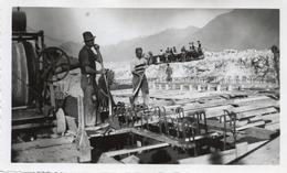 """FO-00311- FOTO ORIGINALE """" IMPIANTO DI VILLADOSSOLA II """" CANALE IRRIGAZIONE ? VERBANO-CUSIO-OSSOLA - Métiers"""