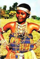 Ghana Adorwa Dancer    Jeune Fille Danse 1990 - Ghana - Gold Coast