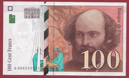 "100 Francs ""Cézanne"" 1997---SUP----ALPH.A ---Numéro.006949351 - 1992-2000 Ultima Gama"