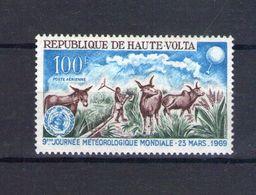 Haute Volta. Poste Aérienne. 9e Journée Métérologique Mondiale - Obervolta (1958-1984)