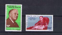 Haute Volta. Poste Aérienne. 25e Anniversaire De La Mort Du Président Roosevelt - Obervolta (1958-1984)