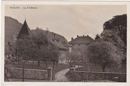 Suisse : VD Vaud : ROCHE : Le Château - ( Carte Photo. ) - VD Vaud